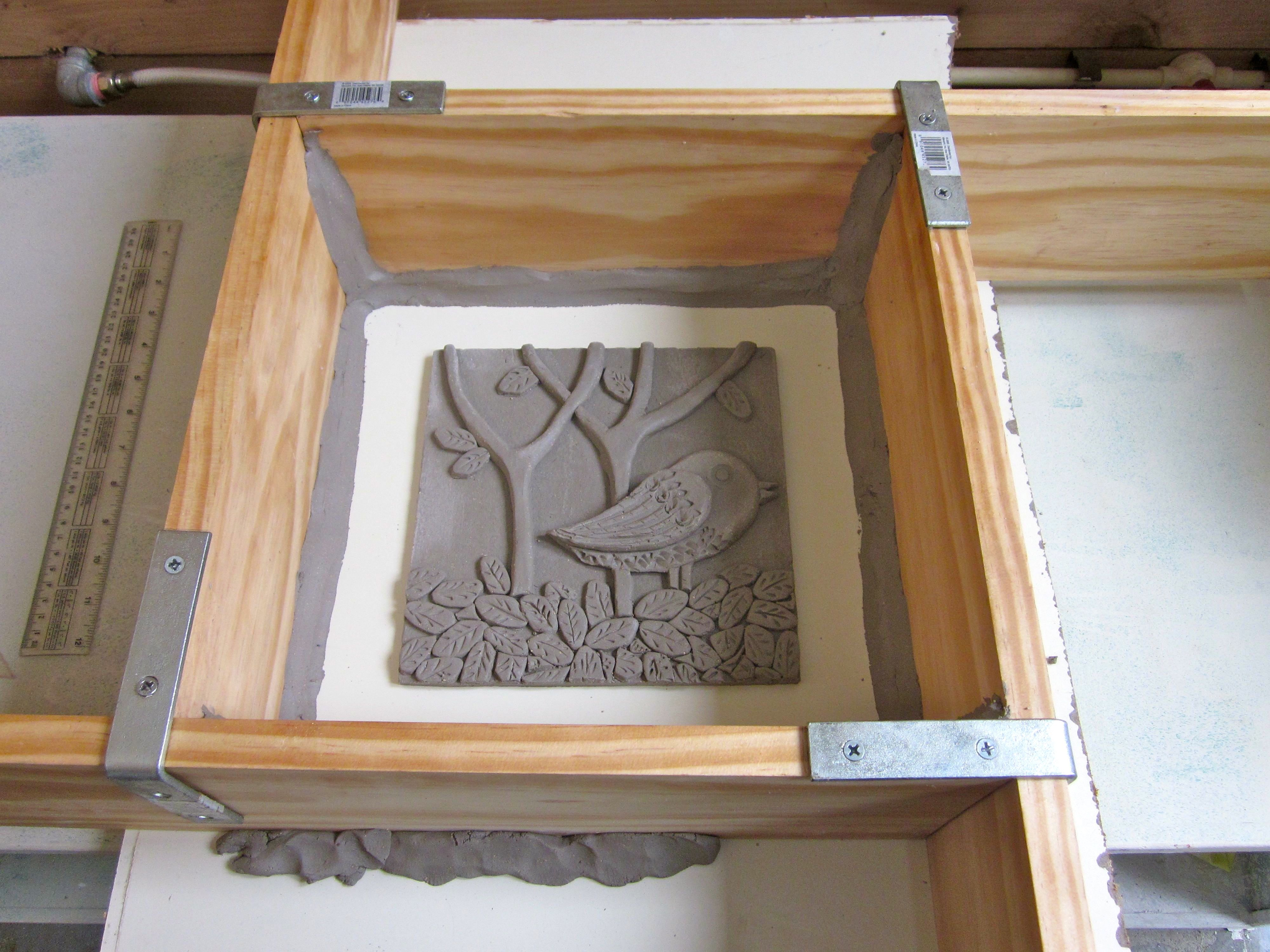 Mold making for tile work | The Art of Sandy Bruckner
